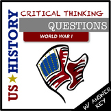 US History Questions: World War I