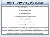 U.S. History - Launching the Nation - Washington's Presidency