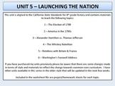 U.S. History - Launching the Nation - Washington's Presidency