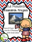US Presidents Research Project