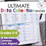 Ultimate Data Collection Binder for Speech and Language K-5