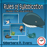 Under the Sea Rules of Syllabication
