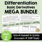 Calculus Differentiation Bundled Unit