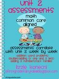Unit 2- Math Bundled Assessments/ Addition and Subtraction