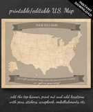 United States Map Printable - Printable Editable Map Insta