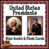 United States Presidents Mini-books and Flashcards