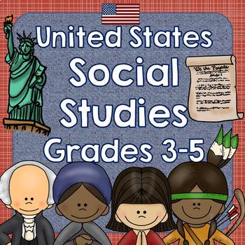 United States Social Studies Pack for Grades 3-5