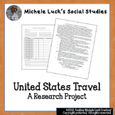 United States Travel Research Project