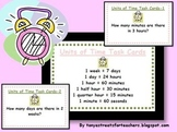 Units of Time Task Cards