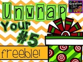 Unwrap your FREEBIE Number 5 {Creative Clips Digital Clipart}