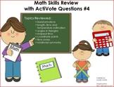 Upper Elementary Math Skills Review Flipchart with ActiVot
