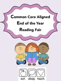 Common Core Aligned End of the Year Book Fair