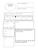 Upper Grades Daily Math Sheet