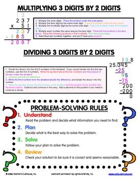 Upper Grades Math Mini Office - Page 4