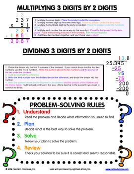 Upper Grades Math Mini Office - Page 4