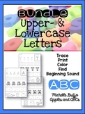 Upper and Lower Case Printing Unit