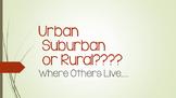 "Urban Suburban Rural - "" Where Others Live"""