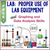 Use of Lab Equipment and Data Analysis Skills