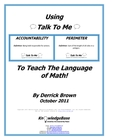 "Using ""Talk To Me"" To Teach The Language of Math! (FREE DOWNLOAD)"