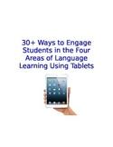 Spanish Class iPad Activities Organized by Reading Writing