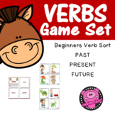 VERB GAME PAST/PRESENT/FUTURE TENSE
