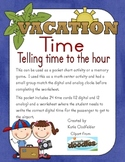 Vacation Time Telling Time to the Hour