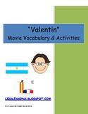 """""""Valentin"""" Vocabulario y Actividades"""