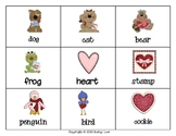 Valentine Concentration - Singular/Plural Nouns