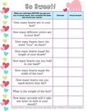 Valentine Conversation Heart Activities