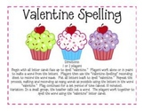 Valentine Literacy Games Fun