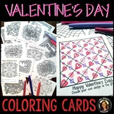 Valentine's Day Cards: Color Your Own Valentines
