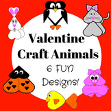 Valentines Craft (Heart Animals)