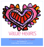 Valentine's Day Art Lesson: Value Hearts