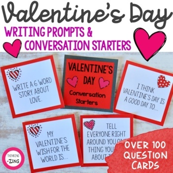 Valentine's Day Conversation Starters & Writing Prompts