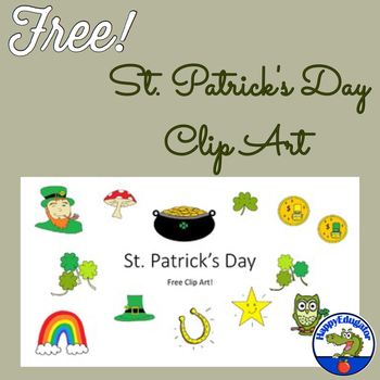 St. Patrick's Day Free Clip Art