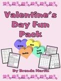 Valentine's Day Fun Pack (Grades 3-5)