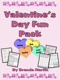 Valentine's Day Fun Pack (Grades 3-5)
