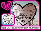 Valentine's Day Hat and Printable Valentines with a Fox {V