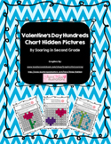 Valentine's Day Spring Hundreds Chart Hidden Picture Set