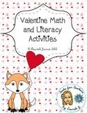 Valentine's Day Language Arts and Math Fun