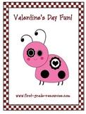 Valentine's Day:  Literacy and Math Center Fun