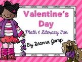 Valentine's Day Math and Literacy Fun