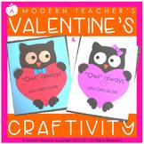 Valentine's Day Owl Craftivity {Owl Always Love You}