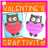 Valentine's Day Owl Craftivity {Owl Always Love You}