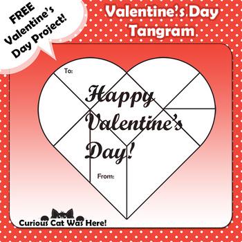 Valentine's Day - Heart Tangram
