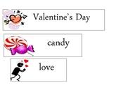 Valentine's Day Word Wall FREEBIE