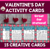 Valentine's Day Activities Task Cards