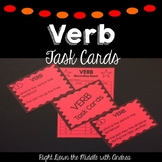 Verb Task Cards {Common Core Aligned}
