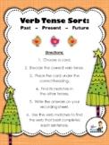Verb Tense Sorting Center (Past, Present, Future)