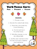 Verb Tense Sorting Center (Past, Present, Future)